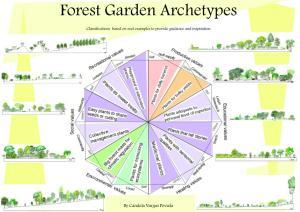 Forest Garden Archetypes model Candela Vargas